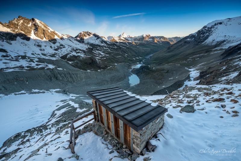 Ausblick Val d Anniviers - ©Christiane Dreher