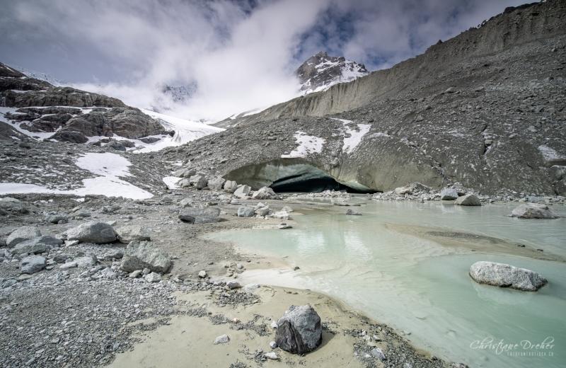 Glacier de Moiry im  Val d Anniviers - ©Christiane Dreher