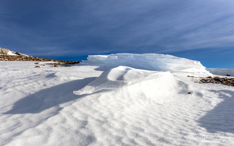Schneeverwehungen - ©Christian Züger