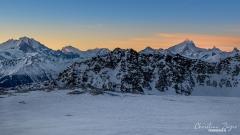 Lötschenpass Panorama am Morgen - ©Christian Züger