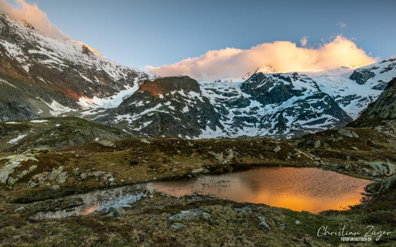 Letztes Sonnenlicht auf dem Sustenpass - ©Christian Züger