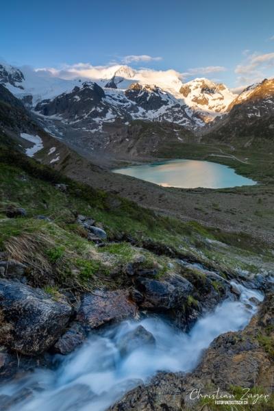 Steinsee auf dem Sustenpass - ©Christian Züger