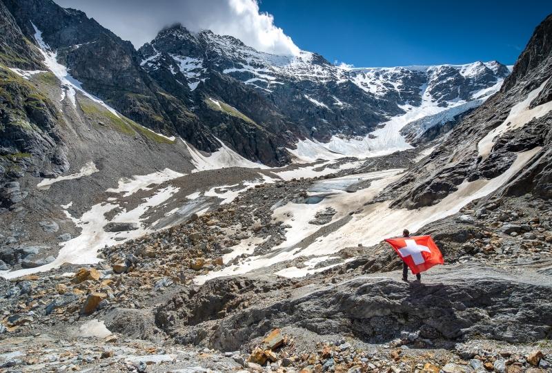 Blick auf den Steingletscher 2020 - ©Christiane Dreher