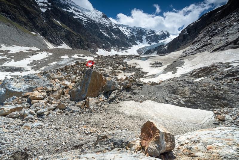 Blick auf den Steingletscher - ©Christiane Dreher