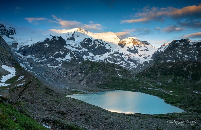 Steinsee auf dem Sustenpass - ©Christiane Dreher