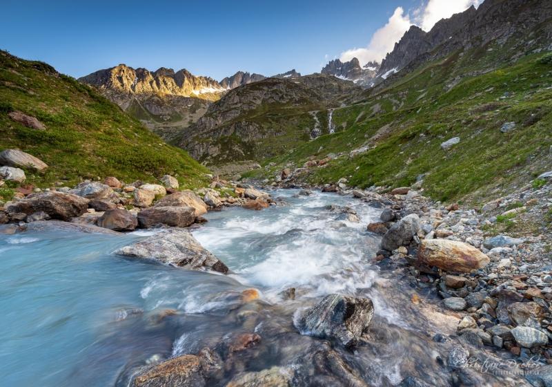 Steinwasser Sustenpass - ©Christiane Dreher