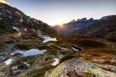 Sonnenuntergang auf dem Sustenpass - ©Christian Züger