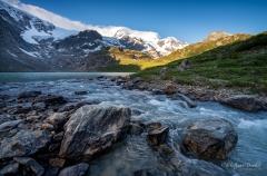 Steinwasser auf dem Sustenpass - ©Christiane Dreher