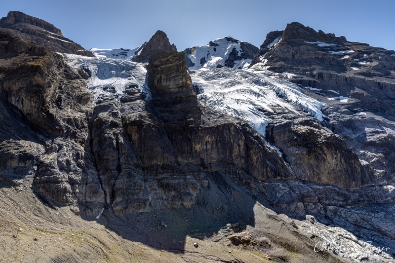 Blüemlisalpgletscher auf dem Weg nach Kandersteg