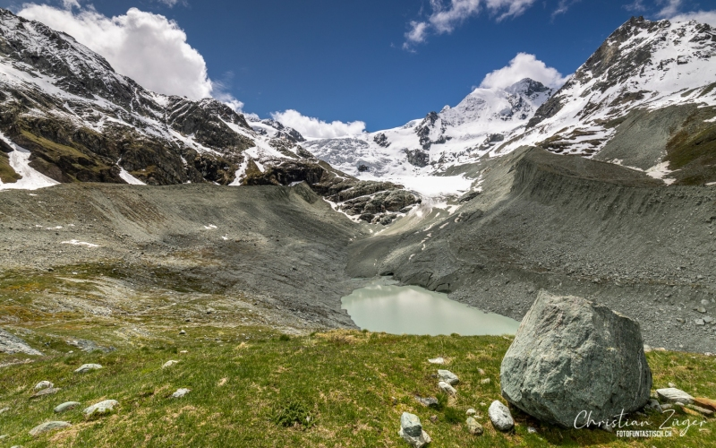 Gletschersee Val d Anniviers - ©Christian Züger
