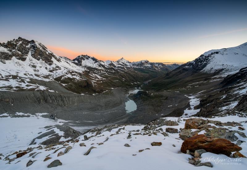 Sonnenaufgang Val d Anniviers - ©Christiane Dreher