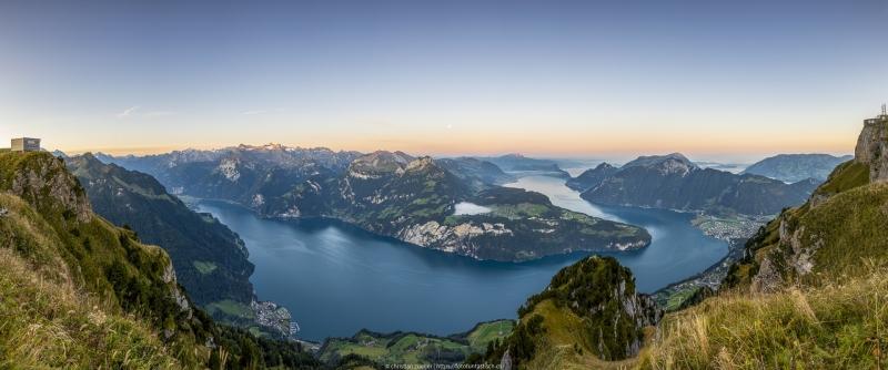 Panorama Vierwaldstättersee - ©Christian Züger