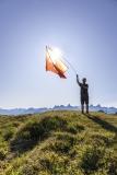 Schweizer Fahne auf dem Fronalpstock -  ©Christiane Dreher
