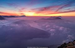 Fantastisches Lichtspektakel nach Sonnenuntergang - ©Christiane Dreher