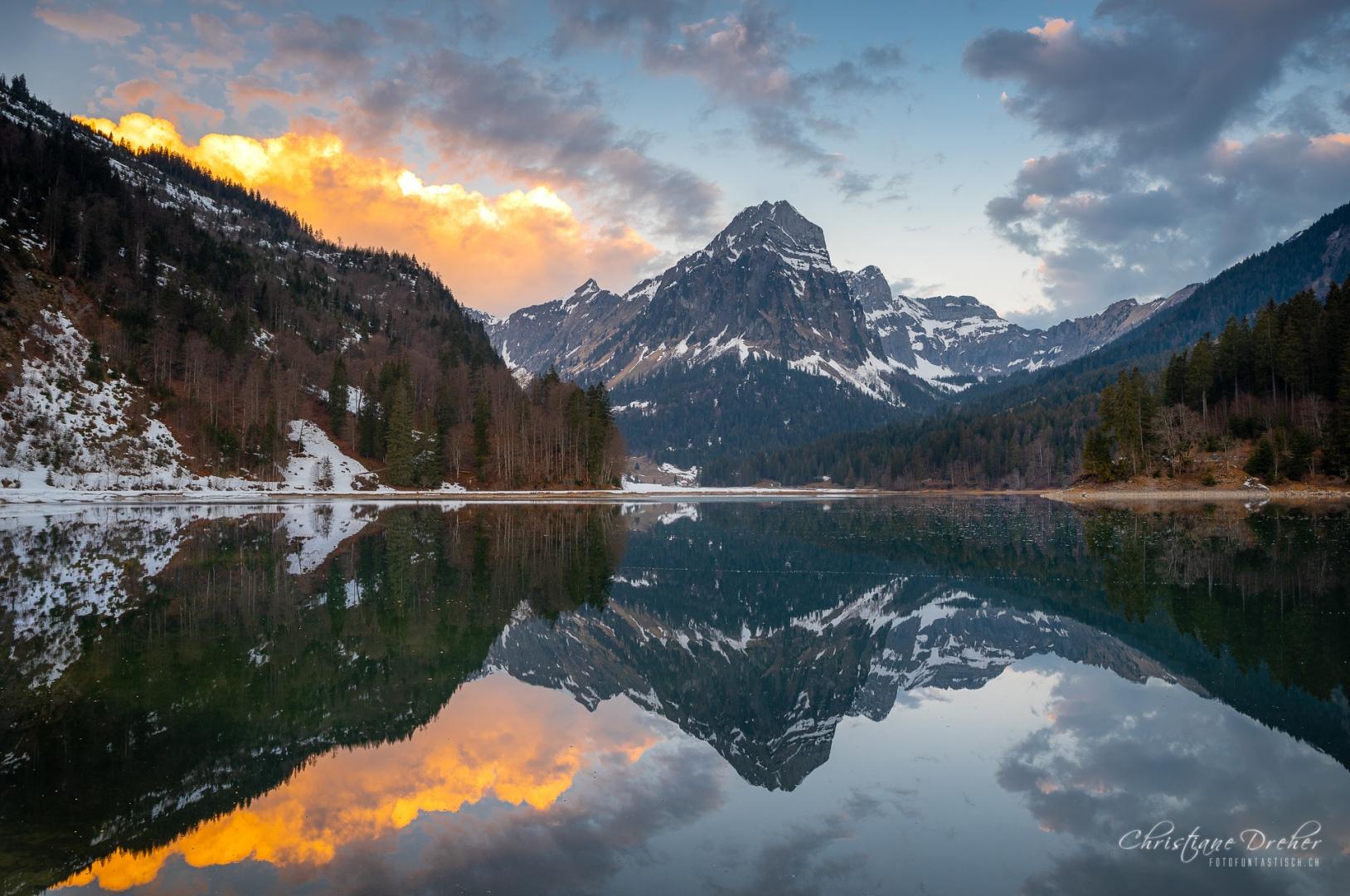 Sonnenaufgang Obersee - ©Christiane Dreher
