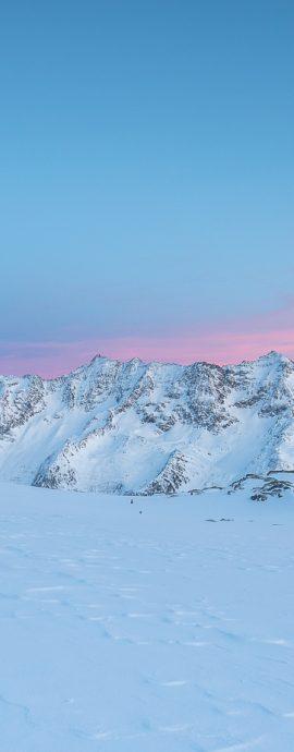 Winter in der Schweizer Bergwelt